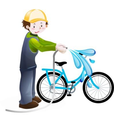 Cykel Vask Pakke 4 Familie
