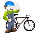 Samling af ny cykel